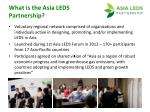 what is the asia leds partnership