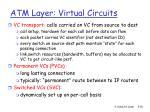 atm layer virtual circuits
