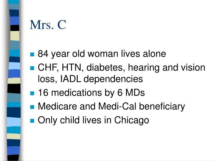 Mrs. C