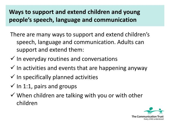 How to Support Your Child's Communication Skills