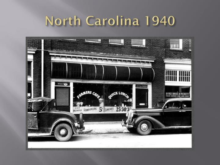 North Carolina 1940