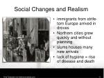 social changes and realism2