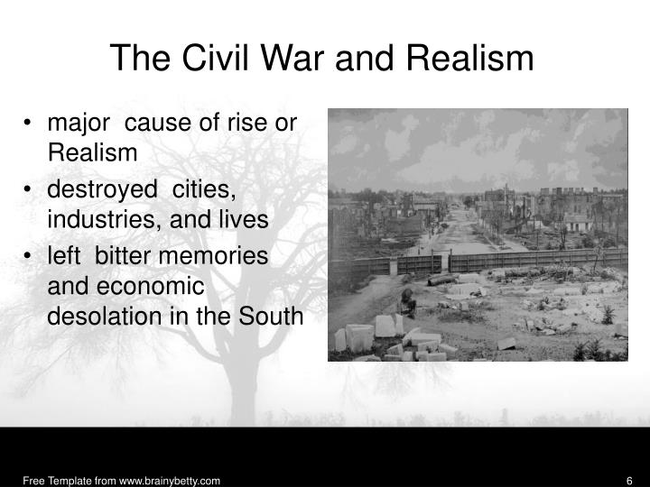 The Civil War and Realism
