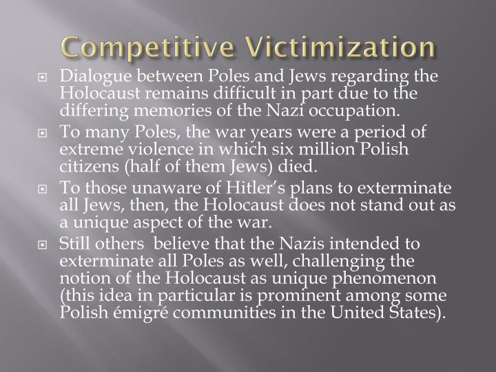 Competitive Victimization