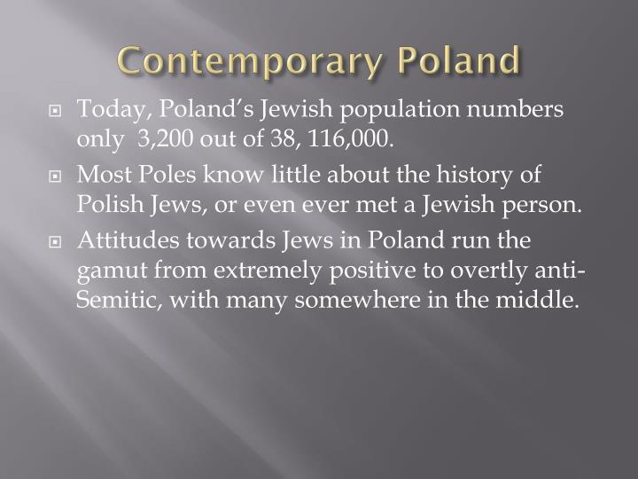 Contemporary Poland