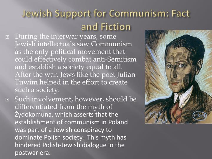 Jewish Support for Communism: Fact and Fiction