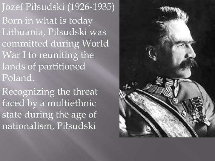 Józef Piłsudski (1926-1935)