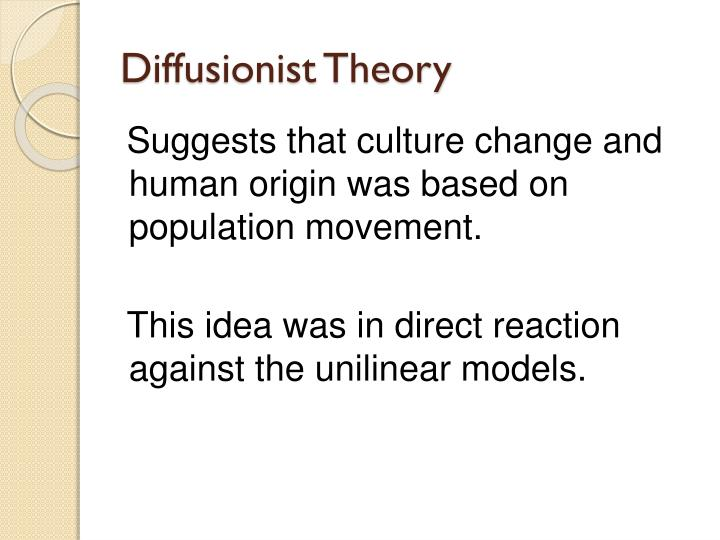 Diffusionist Theory