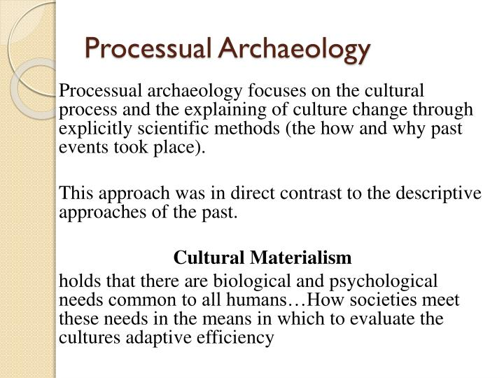Processual Archaeology
