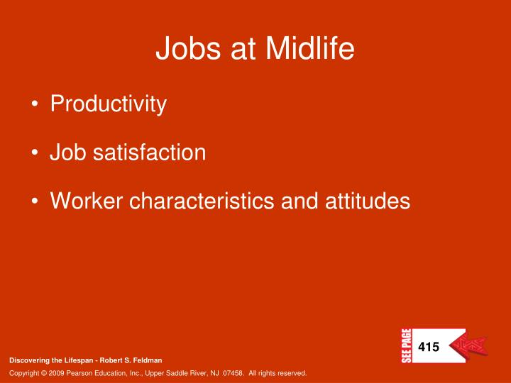 Jobs at Midlife