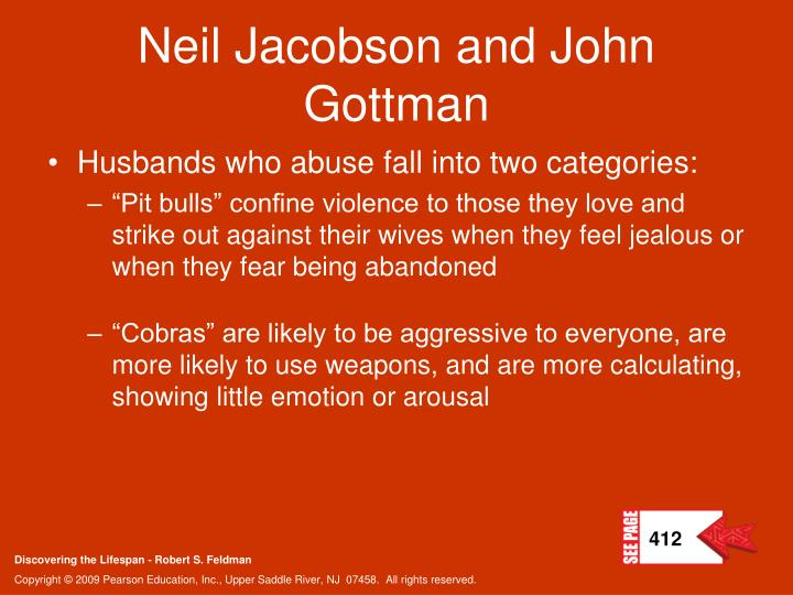 Neil Jacobson and John Gottman