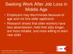 seeking work after job loss in middle age
