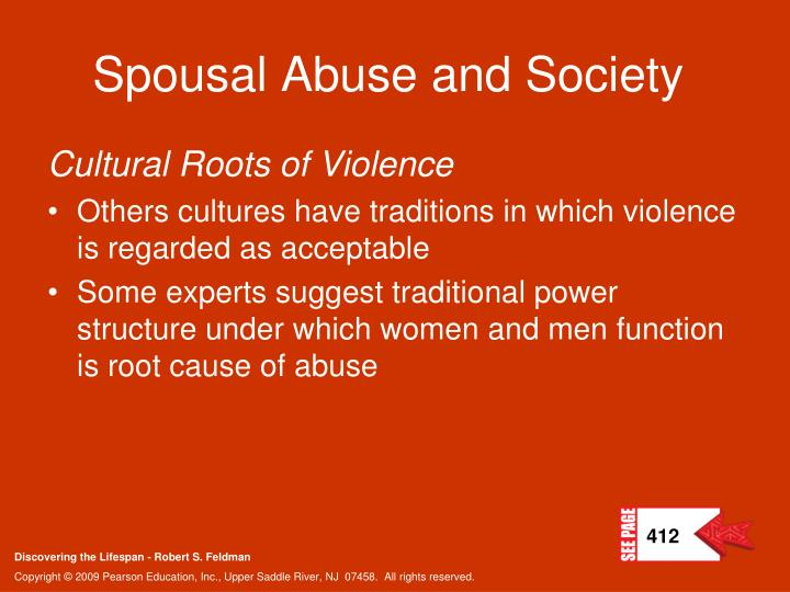 Spousal Abuse and Society