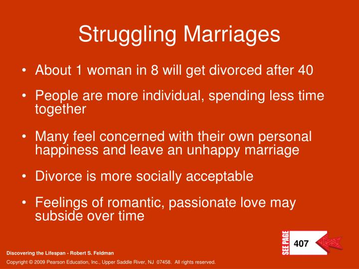 Struggling Marriages