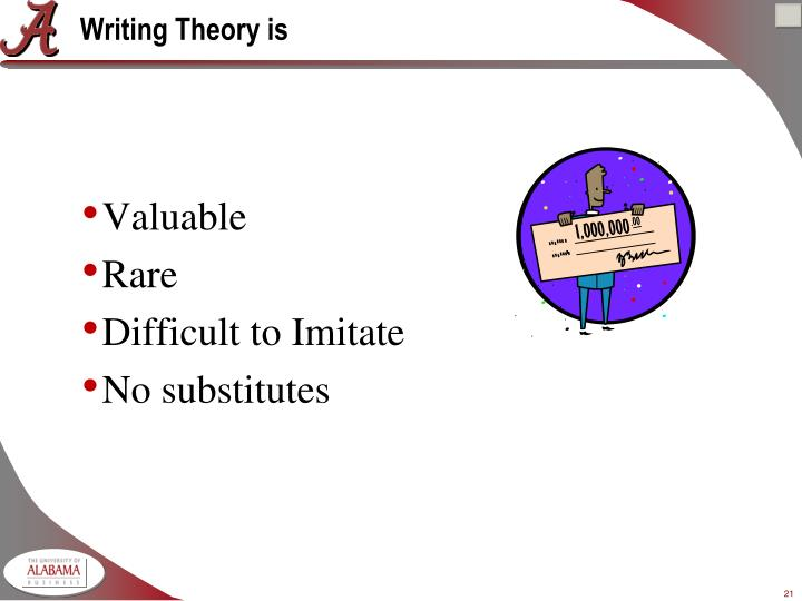 Writing Theory is