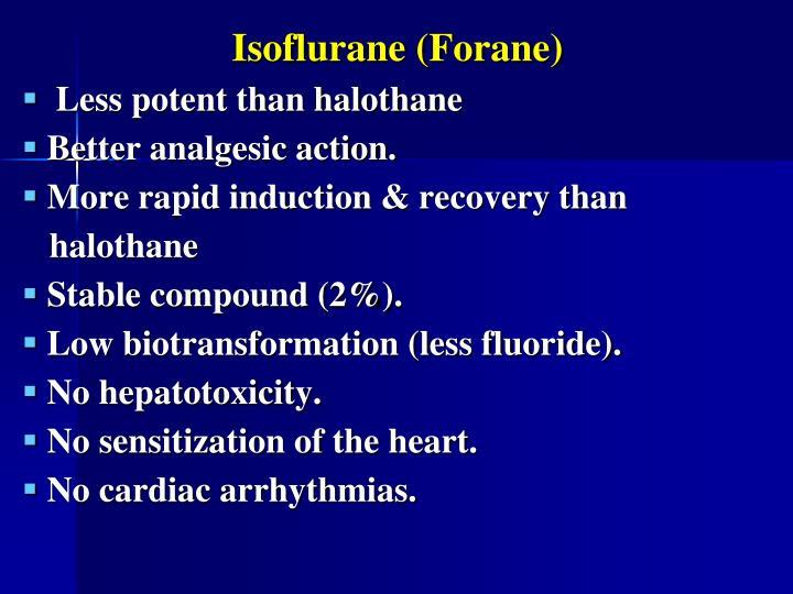 Isoflurane (