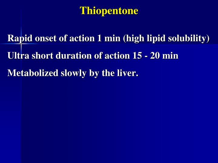 Thiopentone