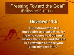 pressing toward the goal philippians 3 12 142
