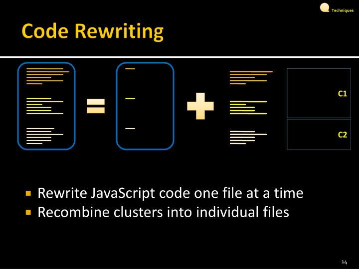 Code Rewriting