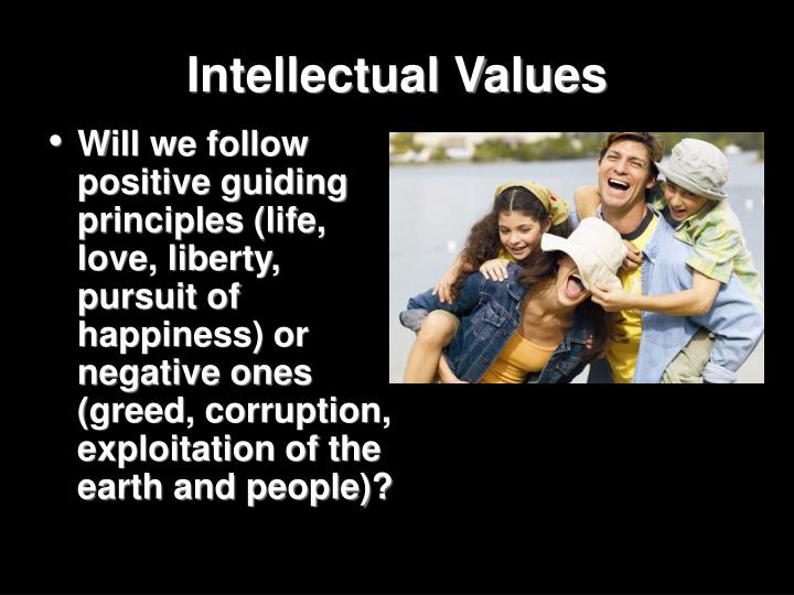 Intellectual Values