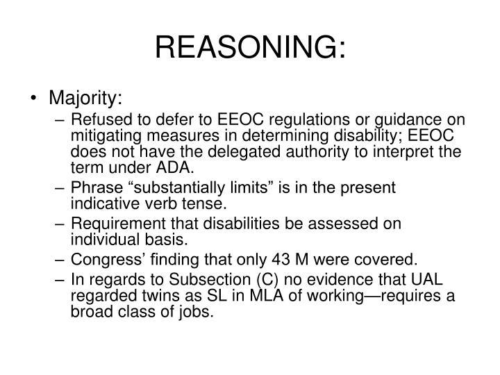 REASONING: