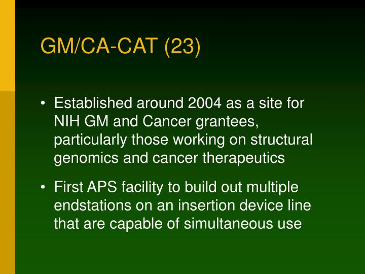 GM/CA-CAT (23)