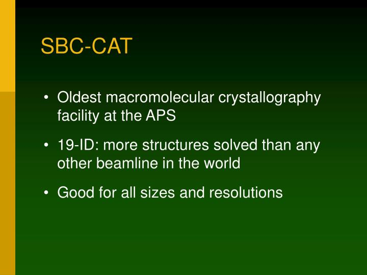 SBC-CAT