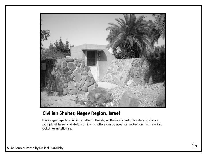 Civilian Shelter, Negev Region, Israel
