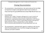 closing documentation