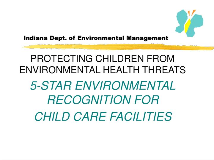 Indiana dept of environmental management