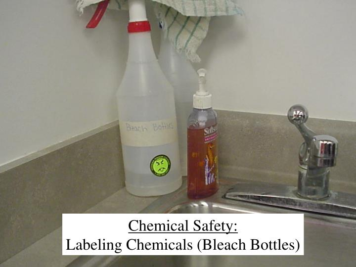Chemical Safety: