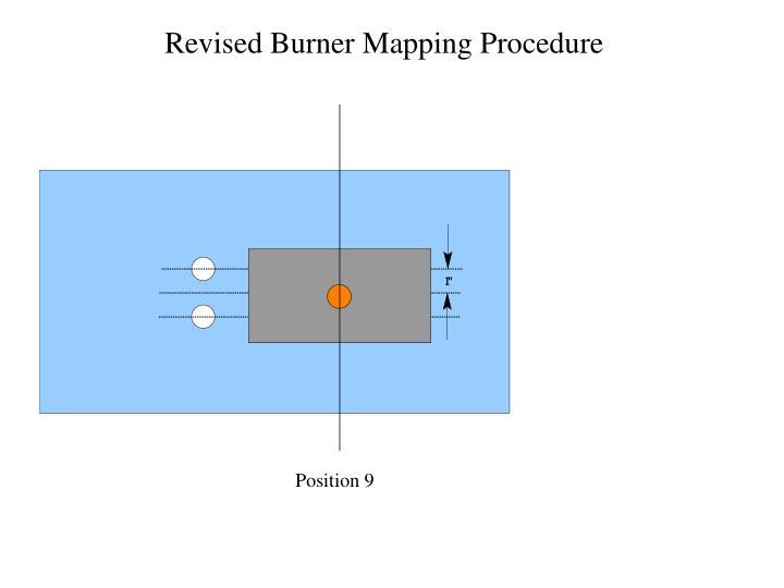 Revised Burner Mapping Procedure