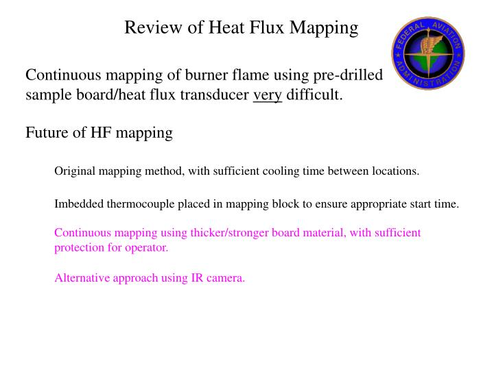 Review of Heat Flux Mapping