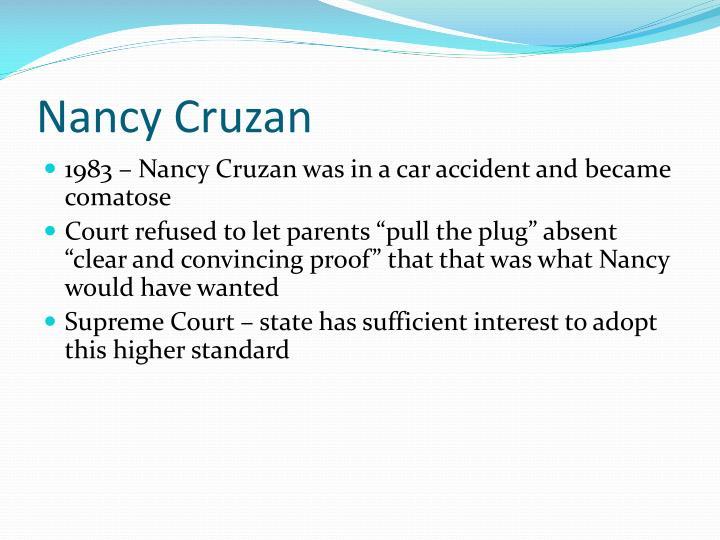 Nancy Cruzan