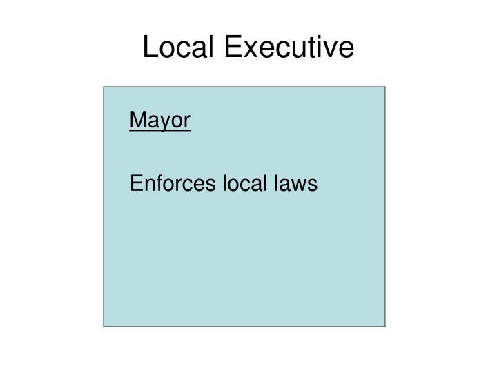 Local Executive