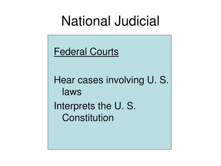 National Judicial