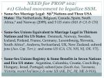 need for prop 102 1 global movement to legalize ssm