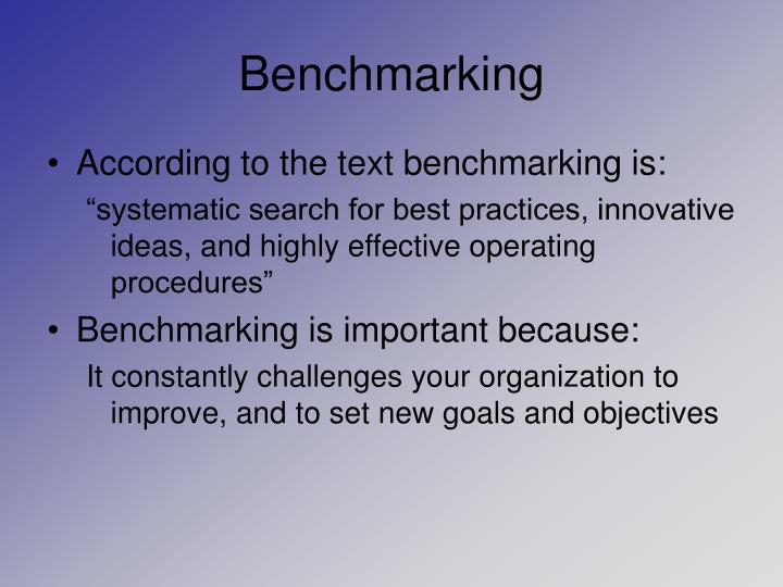 Benchmarking2