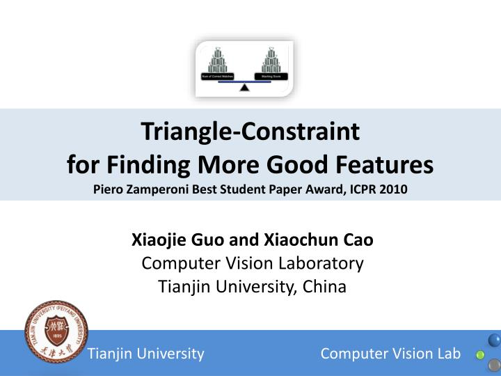 Triangle-Constraint