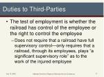duties to third parties1