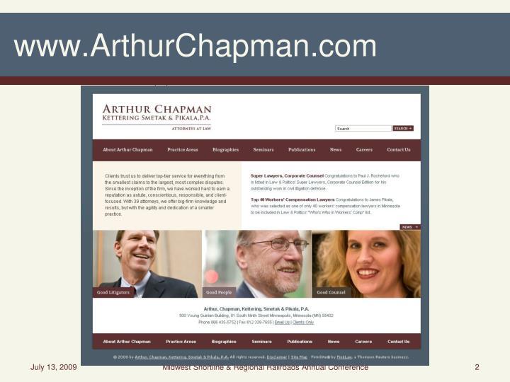 www.ArthurChapman.com
