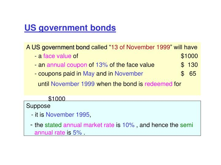 US government bonds