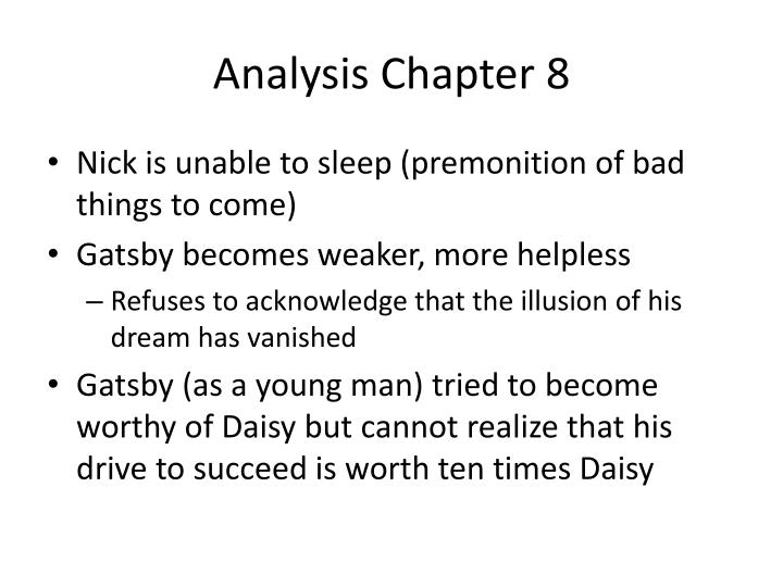 Analysis Chapter 8