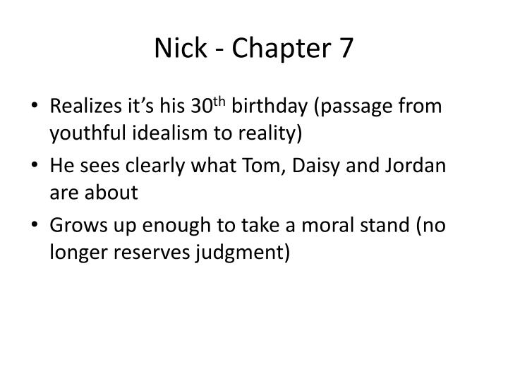 Nick - Chapter 7