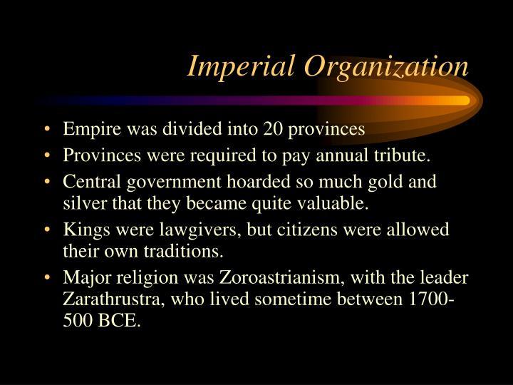 Imperial Organization