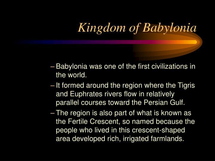 Kingdom of Babylonia