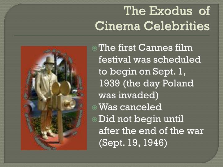 The Exodus  of