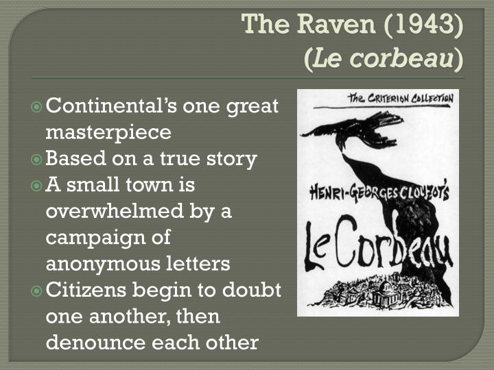The Raven (1943)