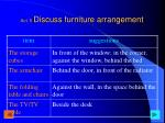 act 5 discuss furniture arrangement1