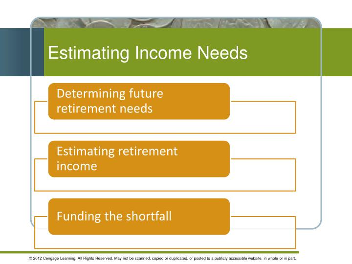 Estimating Income Needs